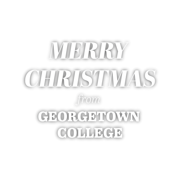Merry Christmas from Georgetown College