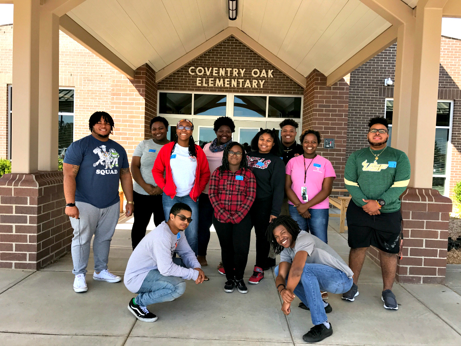 Bishop Scholars at Coventry Oaks Elementary