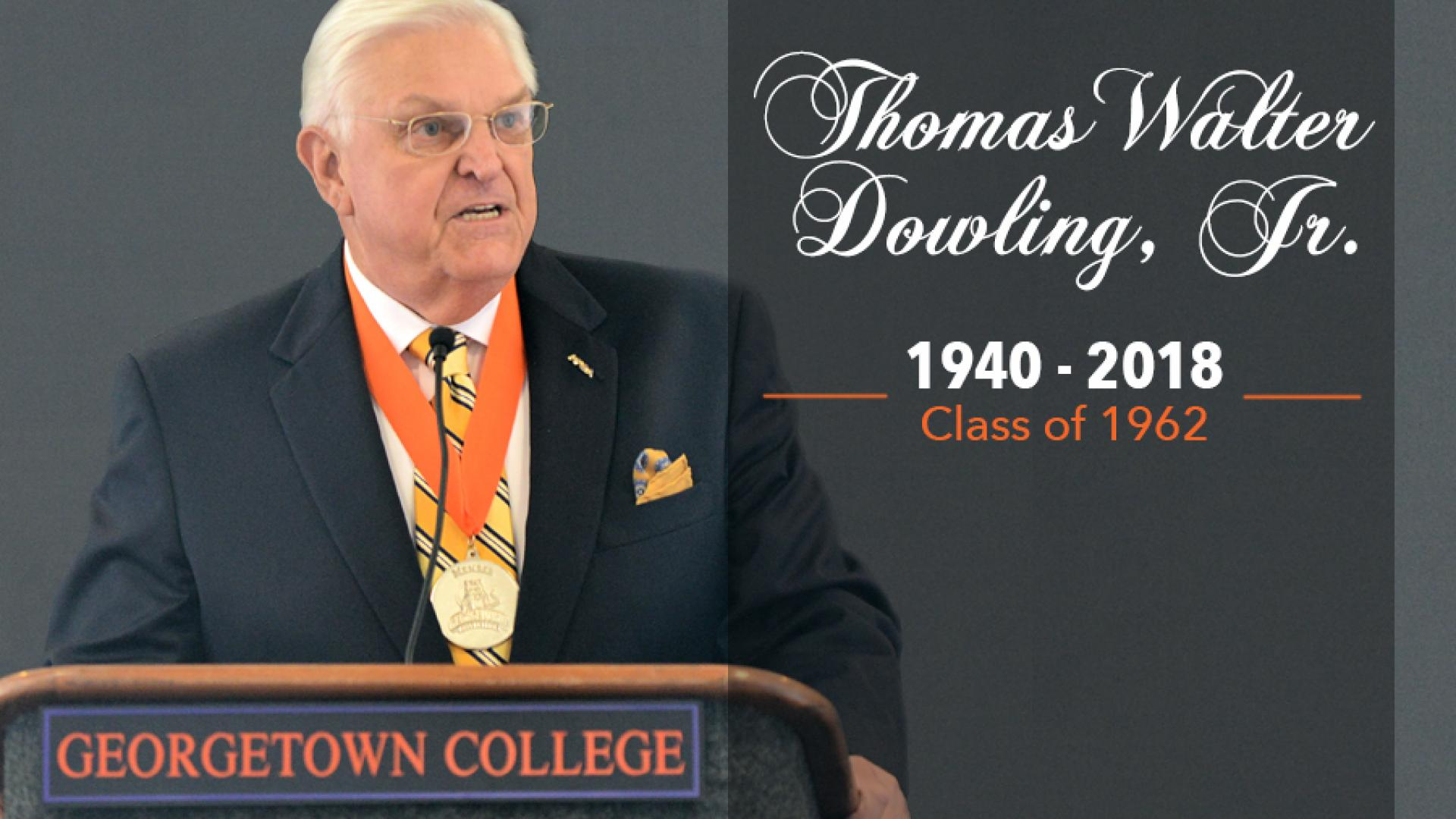Funeral, Celebration of Life for Coach Dowling