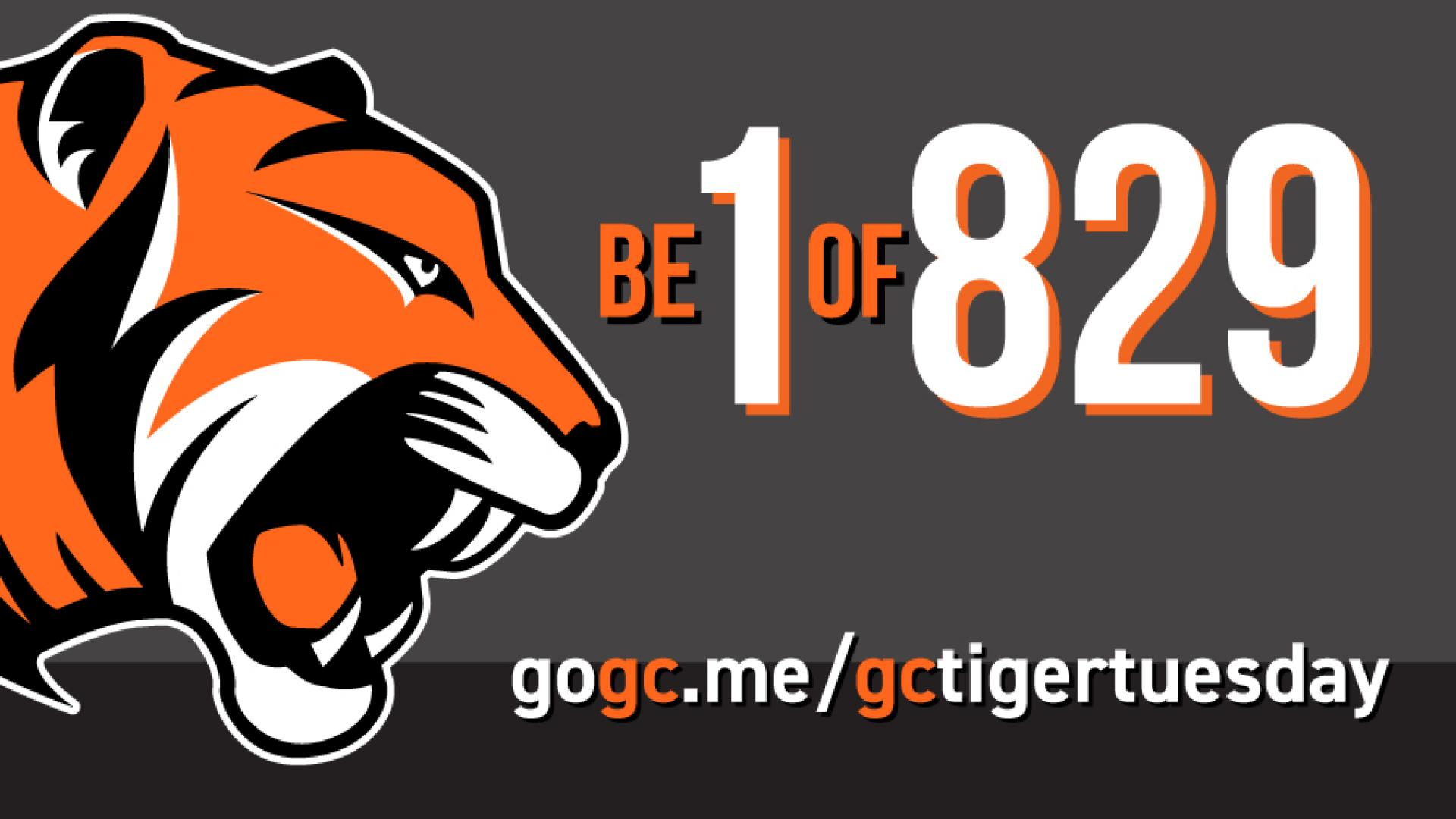 #GCTigerTuesday, a Day of Giving