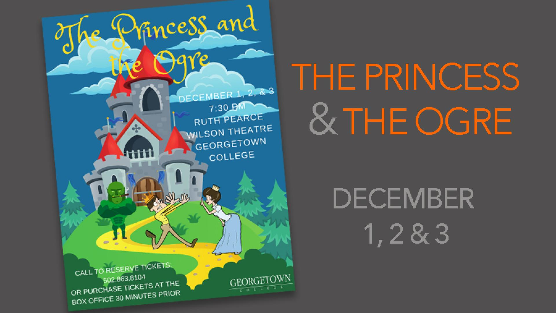 Maskrafters to present The Princess and the Ogre