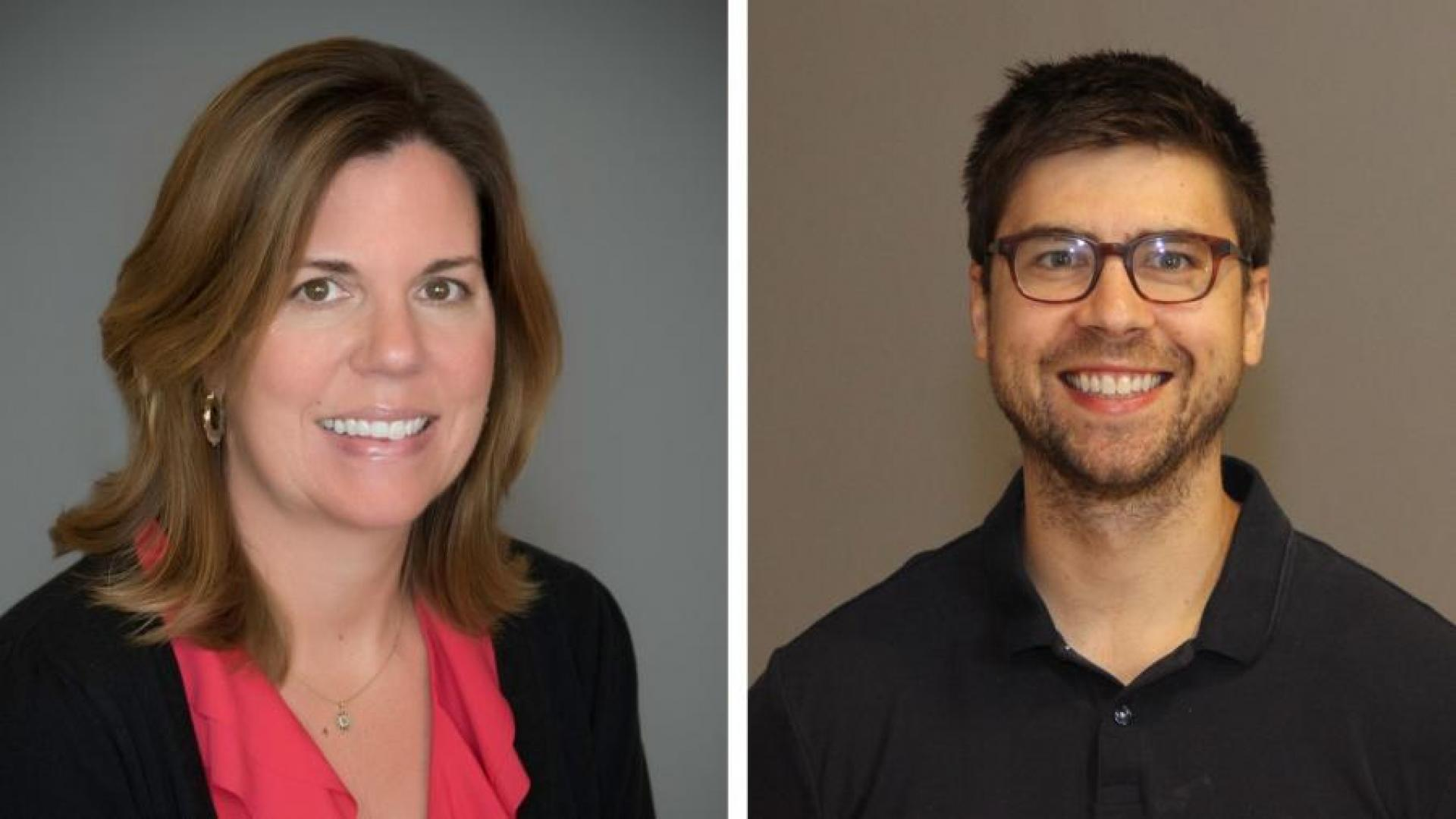 Dr. Tracy Livingston and Dr. Caleb Fischer