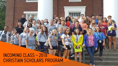 Some members of the 2018 Christian Scholars Program class