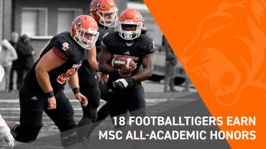 Tigers earn MSC awards