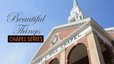 Spring Chapel Series Themed Beautiful Things