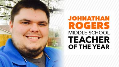 Alumnus named Henry County Middle School Teacher of the Year