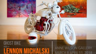 Lennon Michalski's Ghost Bike Exhibit Opens March 8