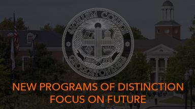 Additional Programs of Distinction Focus on Graduate School, Career