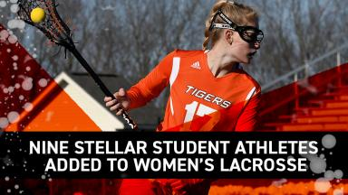 Nine stellar student-athletes join women's lacrosse