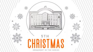 Pawling Hall Christmas Ornament Now Available