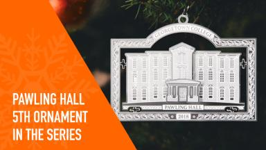 Pawling Hall ornament reminder