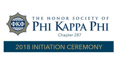 Chapter Inducts New Phi Kappa Phi Members
