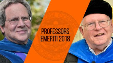 Professors Johnson and Klotter Achieve Emeritus Status