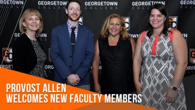 Provost welcomes new faculty members