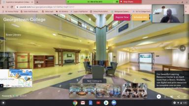 Virtual Tour of the Library