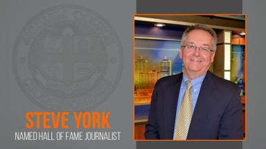 GC Grad Steve York Named Hall of Fame Journalist