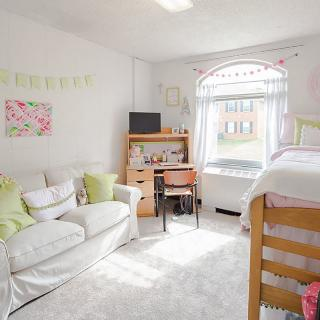 dorm room for first year women